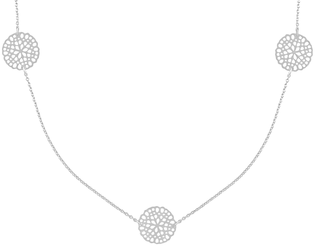 Silberne JEWELLERY BY SOPHIE Kette NECKLACE LITTLE ROUNDS - large