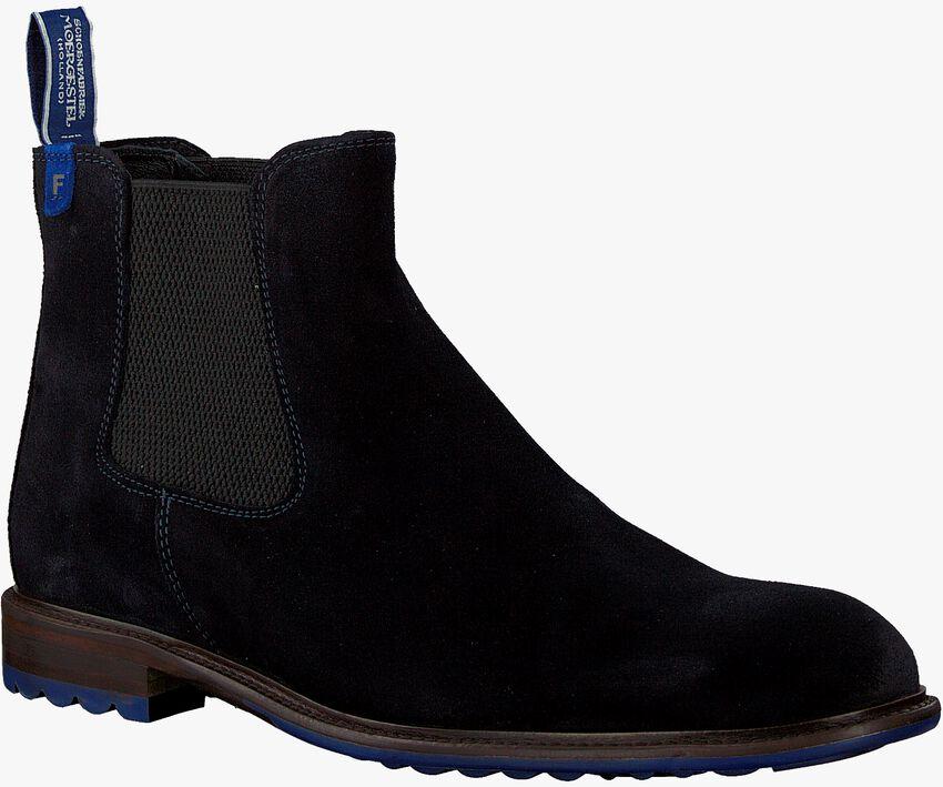 Blaue FLORIS VAN BOMMEL Chelsea Boots 10902  - larger