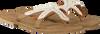 Beige HOT LAVA Zehentrenner STARFISH - small