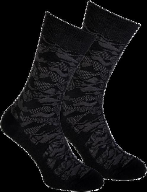 Schwarze MARCMARCS Socken RED BOSTON COTTON - large