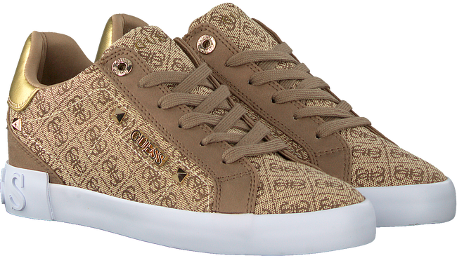 Beige GUESS Sneaker low PUXLY  - large