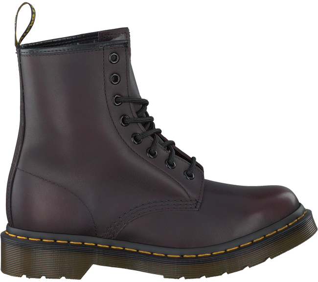 Rote DR MARTENS Ankle Boots 1460 - large