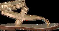 Goldfarbene MICHAEL KORS Sandalen PEARSON THONG  - medium