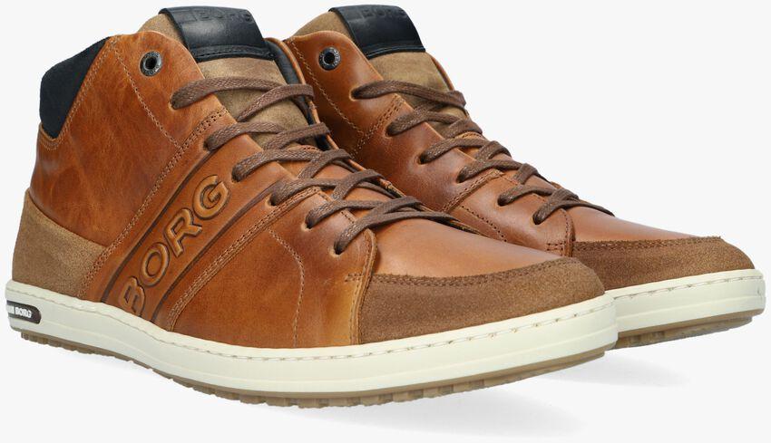 Cognacfarbene BJORN BORG Sneaker CURD MID M  - larger