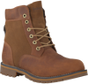 Cognacfarbene TIMBERLAND Ankle Boots LARCHMONT 6IN WP BOOT - small