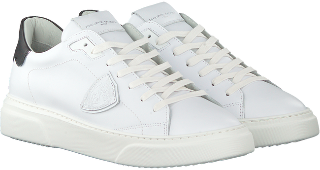 Weiße PHILIPPE MODEL Sneaker low TEMPLE  - large