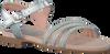 Silberne UNISA Sandalen LOBA - small