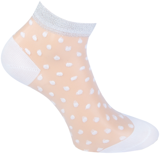 Weiße MARCMARCS Socken NIKKIE  - large