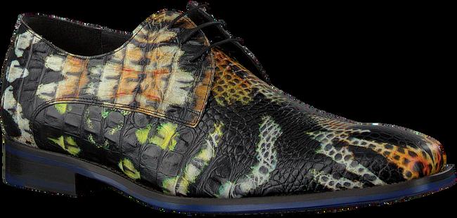 Schwarze FLORIS VAN BOMMEL Business Schuhe 18204  - large