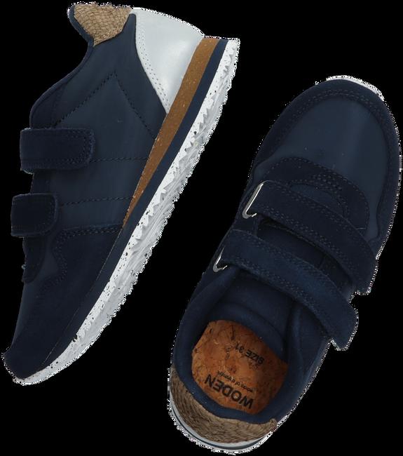Blaue WODEN Sneaker low NOR SUEDE  - large