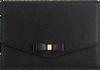 Schwarze TED BAKER Clutch KRYSTAN  - small