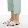 Weiße TORAL Mules 11074  - small