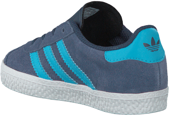 Blaue ADIDAS Sneaker GAZELLE KIDS - large