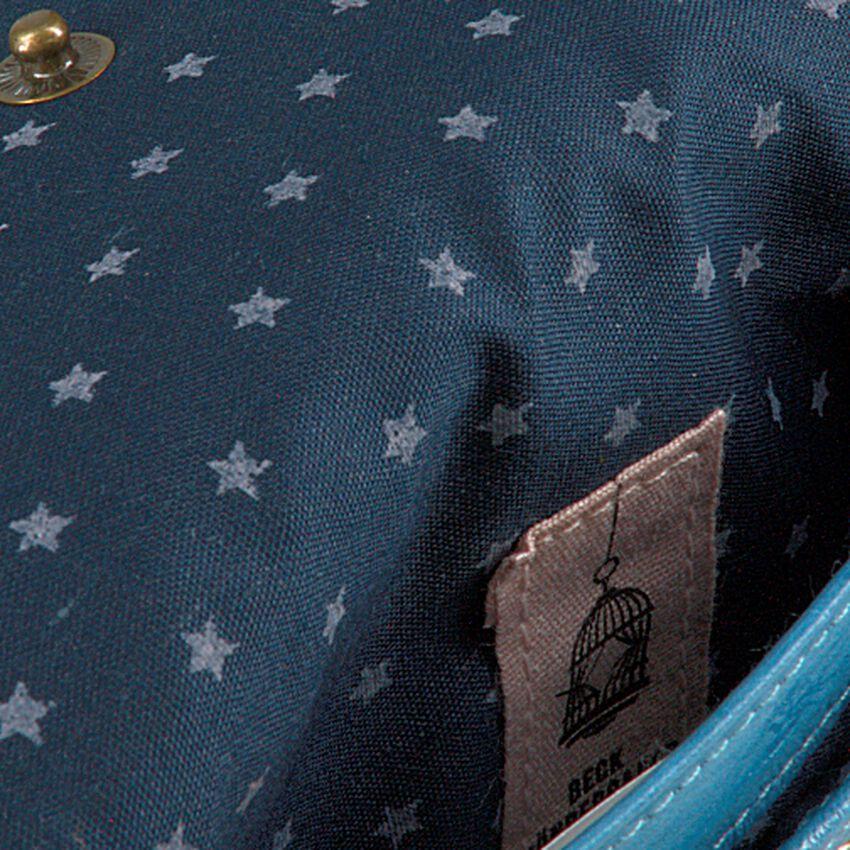 Blaue BECKSONDERGAARD Portemonnaie HANDY RAINBOW AW19  - larger