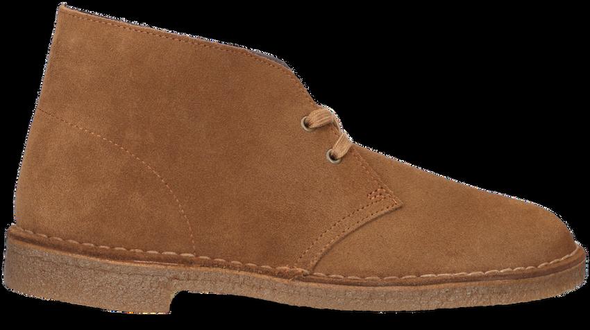 Braune CLARKS Ankle Boots DESERT BOOT HEREN - larger
