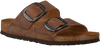 Braune BIRKENSTOCK Pantolette ARIZONA BIG BUCKLE  - small