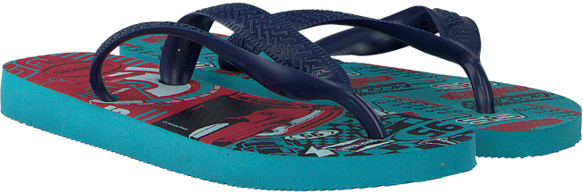 Blue HAVAIANAS shoe CARS  - large