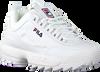 Weiße FILA Sneaker low DISRUPTOR KIDS  - small