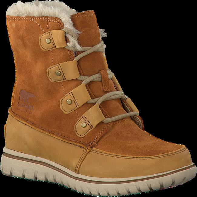Camelfarbene SOREL Ankle Boots COZY JOAN - large