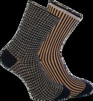 Schwarze MARCMARCS Socken BEAU COTTON  - medium