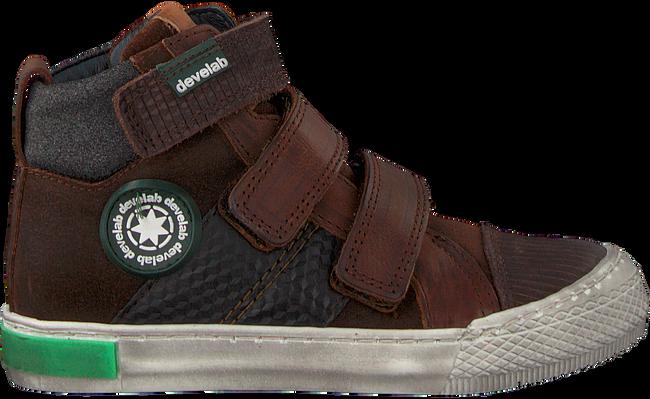 Cognacfarbene DEVELAB Sneaker 41727 - large