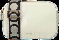 Weiße COCCINELLE Umhängetasche TEBE  - medium