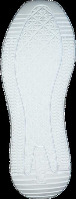 Weiße GABOR Sneaker low 490.1  - large