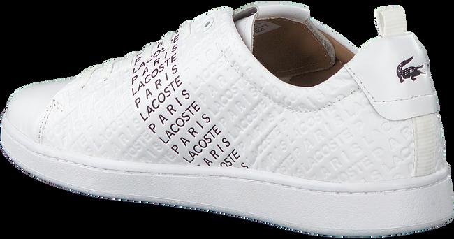 Weiße LACOSTE Sneaker CARNABY EVO 319 12  - large