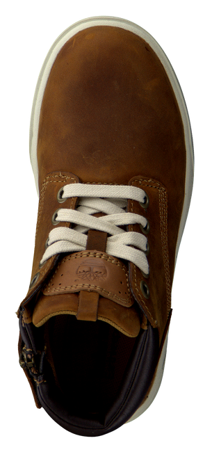 Braune TIMBERLAND Ankle Boots GROVETON LEATHER CHUKKA - large