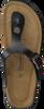 Schwarze WARMBAT Zehentrenner 081503 - small