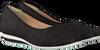 Schwarze HASSIA Slipper 1406 - small
