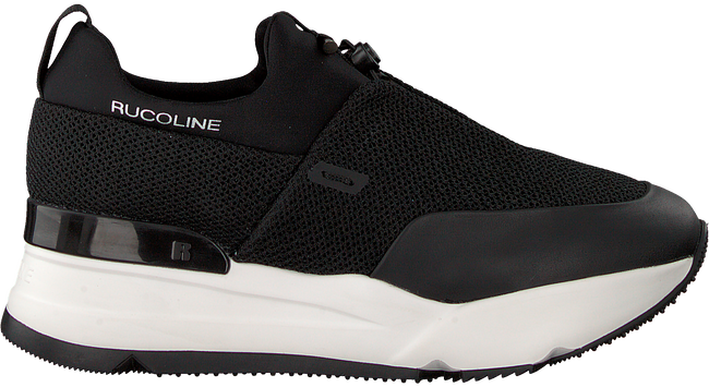 Schwarze RUCOLINE Sneaker 122 SPACE NATURE  - large