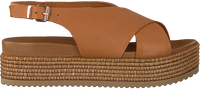 Cognacfarbene NOTRE-V Sandalen 431014  - medium