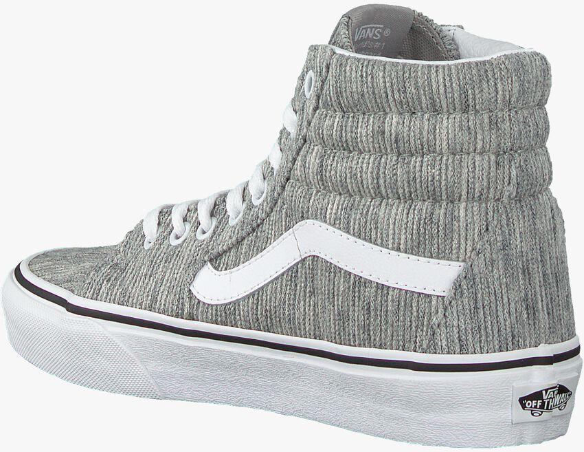 Graue VANS Sneaker UA SK8-HI WOMEN  - larger