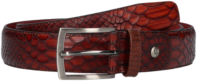 Cognacfarbene FLORIS VAN BOMMEL Gürtel 75188 - large