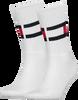 Weiße TOMMY HILFIGER Socken TH FLAG - small