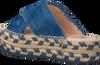 Blaue FRED DE LA BRETONIERE Zehentrenner FRS0321 ESPADRILLE SLIPPER SUE - small