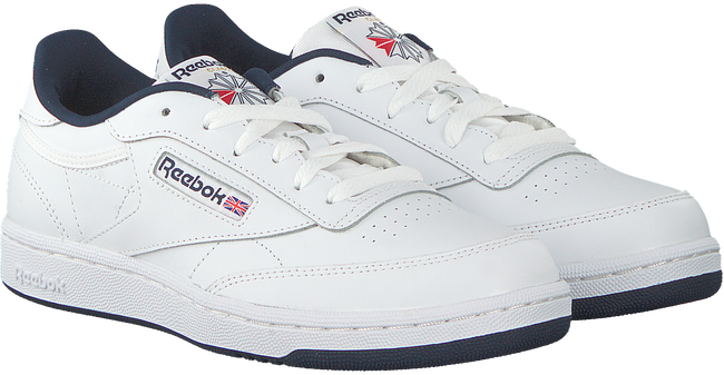 Weiße REEBOK Sneaker CLUB C KIDS  - large