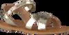 Goldfarbene LE BIG Sandalen NOX SANDAL - small