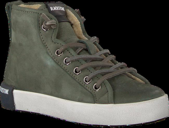 Grüne BLACKSTONE Sneaker QK76 - large