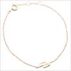 Goldfarbene ALLTHELUCKINTHEWORLD Armband SOUVENIR BRACELET CACTUS - small