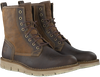 Braune TIMBERLAND Ankle Boots WESTMORE SHEARLING BOOT - small