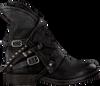 Schwarze A.S.98 Biker Boots 207235 SOLE. VERTI OUD FW17 - small