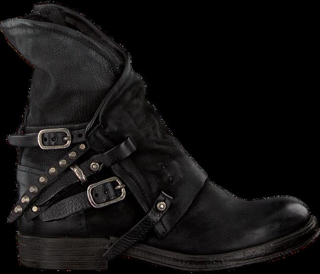 Schwarze A.S.98 Biker Boots 207235 SOLE. VERTI OUD FW17 - large
