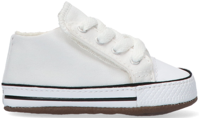 Weiße CONVERSE Babyschuhe CRIBSTER CANVAS COLOR  - large