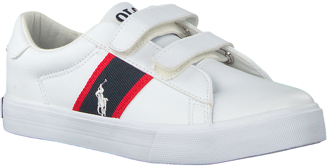 Weiße POLO RALPH LAUREN Sneaker GEOFF EZ  - large