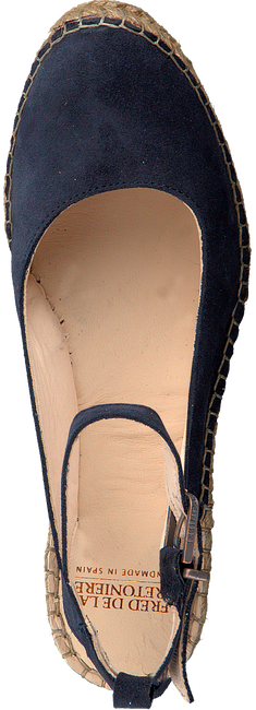 Blaue FRED DE LA BRETONIERE Espadrilles 153010055 - large