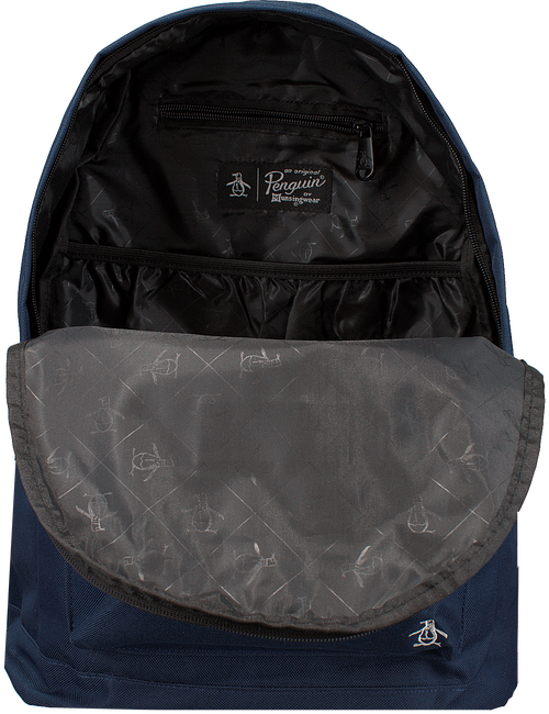 Blaue ORIGINAL PENGUIN Rucksack HOMBOLDT BACKPACK - large