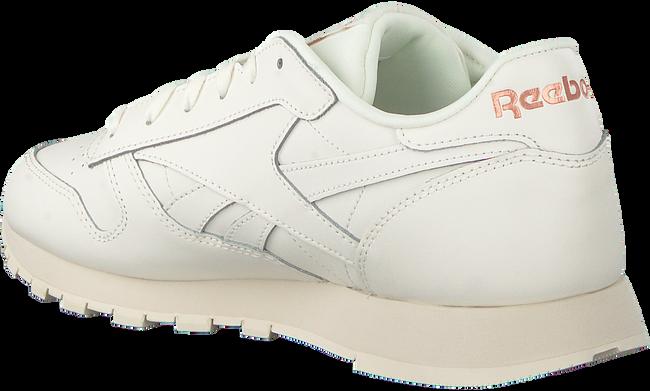 Weiße REEBOK Sneaker CL LTHR WMN  - large