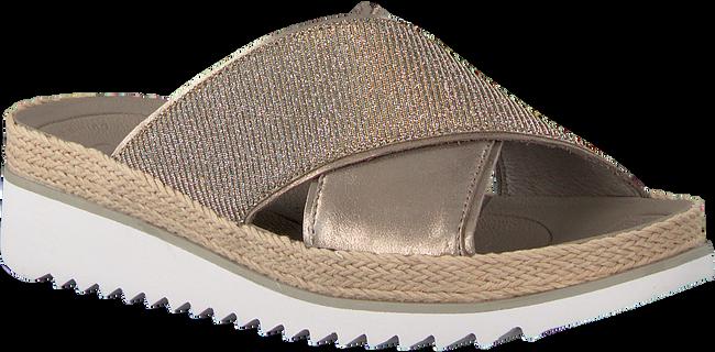 Goldfarbene GABOR Pantolette 722.2 - large